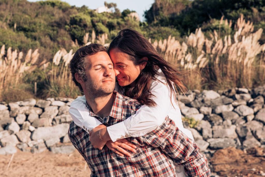 seance couple pays basque plage