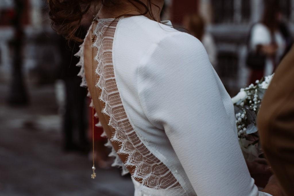 robe de mariée pour mariage en hiver