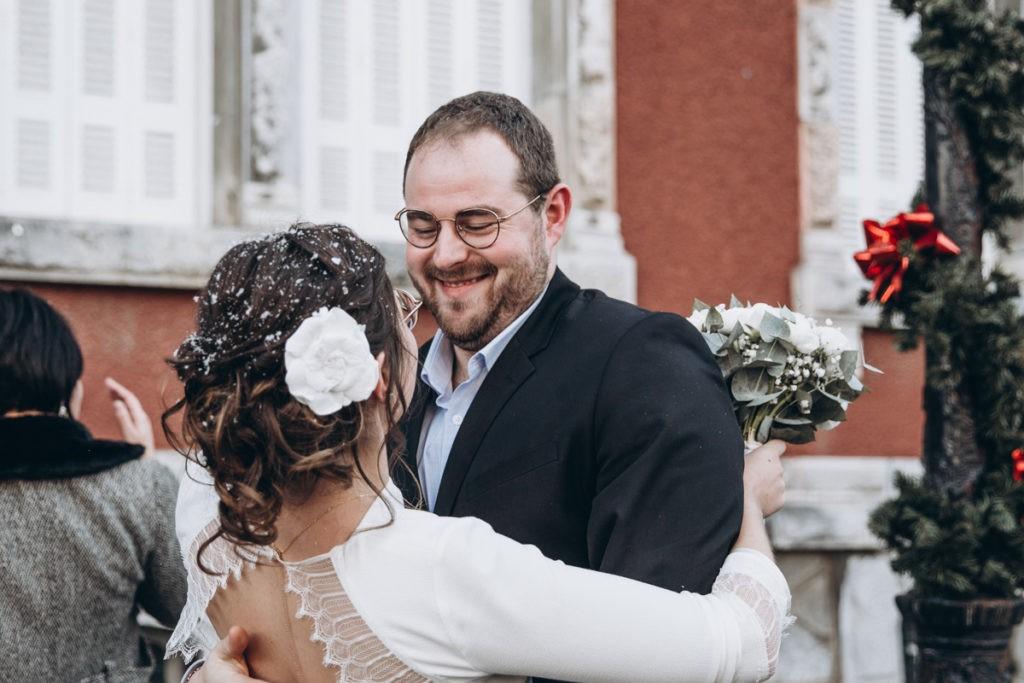 mariage en hiver invités