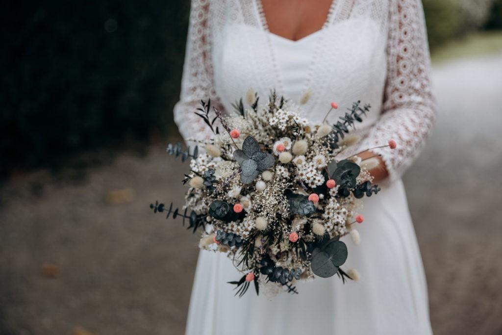 fleurs sechees mariage