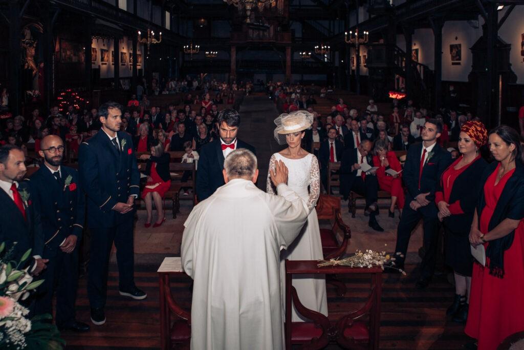 mariage rouge et noir saint jean de luz