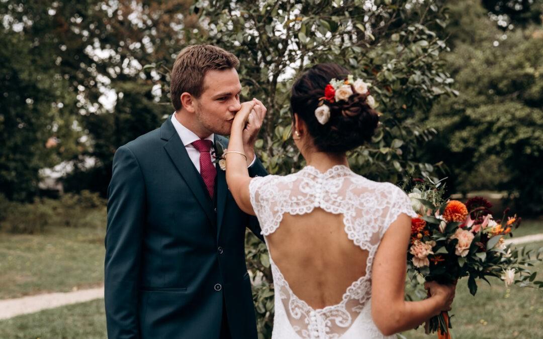 Le first look lors de votre mariage