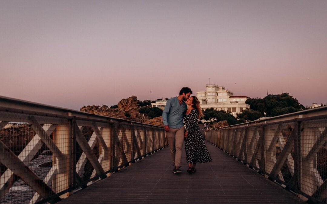 Séance engagement à Biarritz