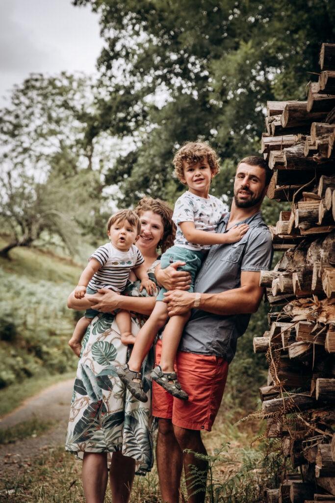 séance famille a saint esteben