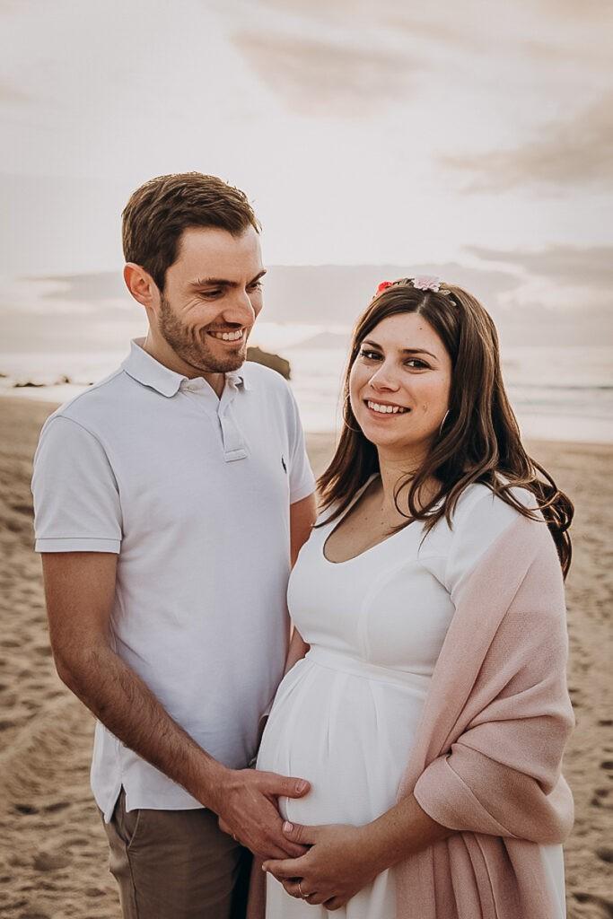 Séance grossesse à Biarritz