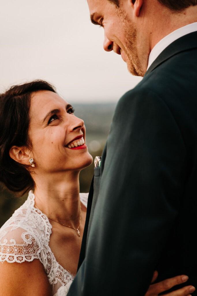 seance couple quelques jours après le mariage