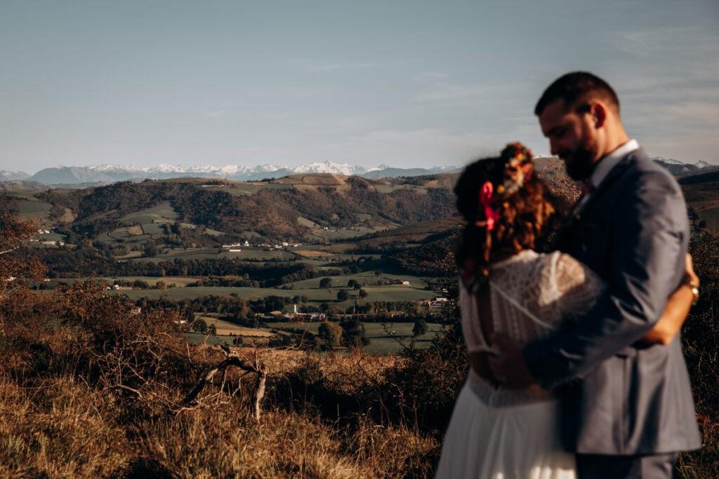 seance photo à la montagne