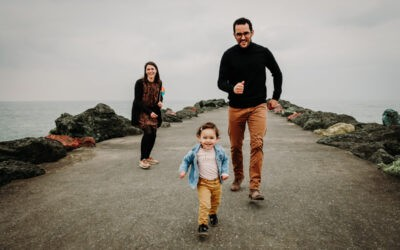 Séance famille à Anglet